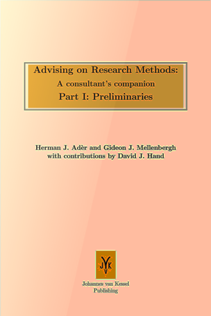 Advising on research methods, Part I